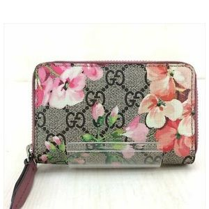 Gucci in the bloom small zip wallet